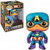 Funko POP Marvel: Black Light - Captain America