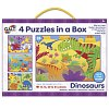 4 Puzzle in a Box - Dinosaurs