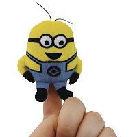 Minions DM3: Plyšový maňásek na prst se zvukem