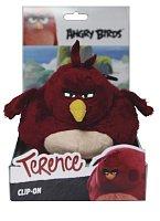 Angry Birds: 14cm plyšová hračka s nylon přívěskem