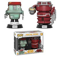Funko POP Star Wars Bobble 2-Pack: Solo - Fight Droids (Exc) (CC)