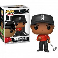 Funko POP Golf: Tiger Woods (Red Shirt)