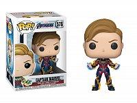 Funko POP Marvel: Avengers Endgame W3 - Captain Marvel w/New Hair