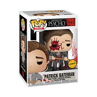 Funko POP Movies: American Psycho S2 - Patrick w/Chase&Axe