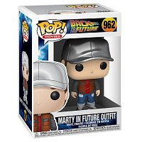 Funko POP Movies: BTTF S4 - Marty in Future Outfit