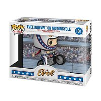 Funko POP Rides: Evel Knievel on Motorcycle