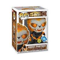 Funko POP Marvel:InfinityWarps-GhostPantherWChain(GW)