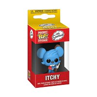 Funko POP Keychains: Simpsons S6 - Itchy