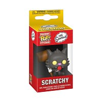 Funko POP Keychains: Simpsons S6 - Scratchy