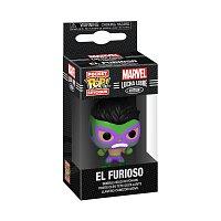 Funko POP Keychain: Marvel Luchadores- Hulk