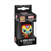 Funko POP Keychain: Marvel Luchadores- Iron Man