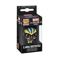 Funko POP Keychain: Marvel Luchadores- Wolverine