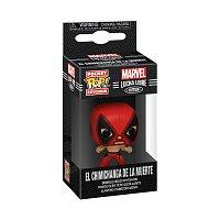Funko POP Keychain: Marvel Luchadores- Deadpool