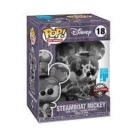 Funko POP Artist Series: Mickey- Steamboat Willie