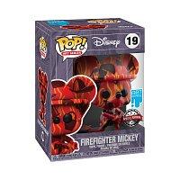 Funko POP Artist Series: Mickey- Firefighter Mickey