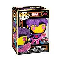 Funko POP Marvel: Black Light- Gambit