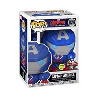 Funko POP Marvel: Marvel Mech- CapAmerica(GW)