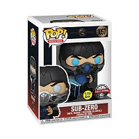 Funko POP Movies: Mortal Kombat - Sub-Zero (GW)