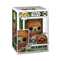 Funko POP Star Wars: ATG- Wicket w/Pin
