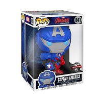 Funko POP Jumbo: Marvel Mech- Captain America