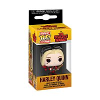 Funko POP Keychain: The Suicide Squad - Harley Quinn (Bodysuit)