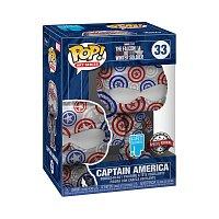 Funko POP Artist Series:Patriotic Age S1 - Captain America (33)