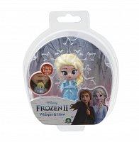 Frozen 2: 1-pack svítící mini panenka - Elsa Travellling