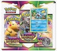 Pokémon TCG: SWSH04 Vivid Voltage - 3 Blister Booster