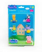 Peppa Pig: 4 figurek s razítkem - blister