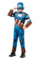Avengers: Captain America Deluxe - vel. XL