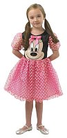 Minnie Mouse: růžový kostým - vel. L