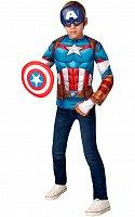 Avengers: Captain America - kostým triko s vycpávkami a maska