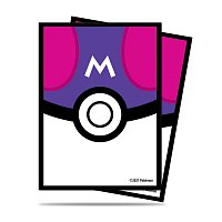 Pokémon UP: Master Ball - Deck Protector obaly na karty 65ks