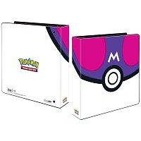 Pokémon UP: Master Ball - kroužkové album na stránkové obaly