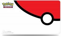 UltraPRO Pokémon Playmat - Pokéball Red&White