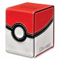 Pokémon UP: Poké Ball - Flip Box kožená krabička na karty