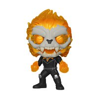 Funko POP Marvel: Infinity Warps- Ghost Panther