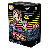Funko POP & Tee: BTTF- Marty w/Hoverboard- S