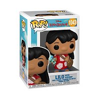 Funko POP Disney: Lilo&Stitch S2 - Lilo w/Scrump