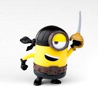 Minions: 3D figurka 7cm s nylon přívěskem - blister