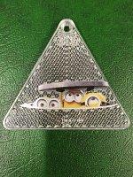 Minions: Reflexní bezpečnostní klíčenky